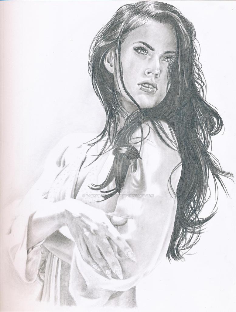 Megan Fox by DarkSilverStudio