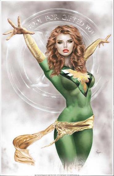 Jean-Grey Phoenix by DarkSilverStudio