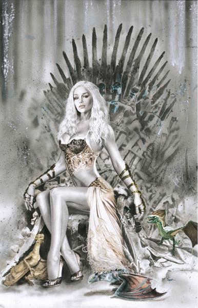 Daenarys Throne by DarkSilverStudio