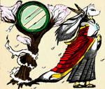 Phantom Priest of the Mirror by MrParaduo