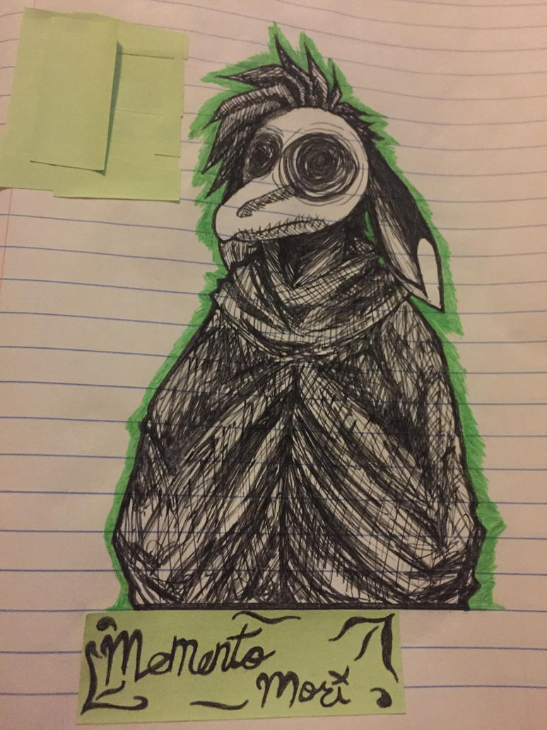 Plague doctor doodle by StaticPigeons