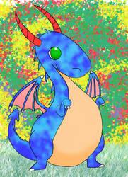 My Blue Dragon