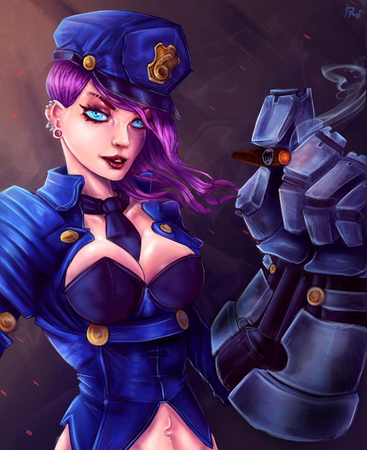 Officer Vi ~ by IronCollapse on DeviantArt