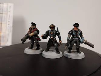 Terran Vanguard Command Staff by Jdbirds
