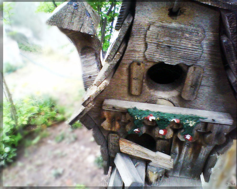 Birdhouse re by Dormidoart