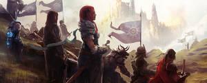 Guild Wars 2 - Celebration by PapayouFR
