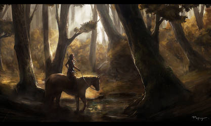 Forest ride (WIP)