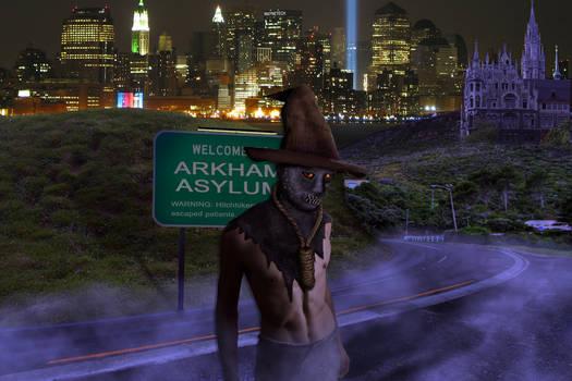 Arkham Inmates: Scarecrow