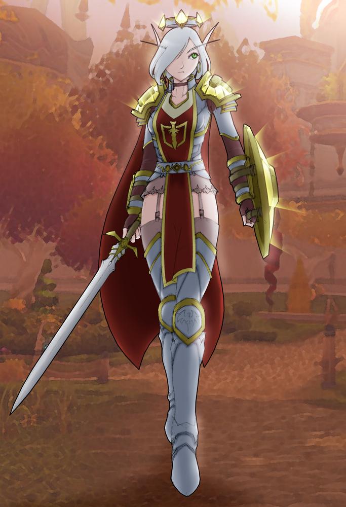 0212 Blood Knight Annalea By Aelannacessara On Deviantart