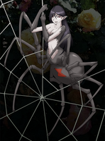 0223 Black Widow Silkweaver by aelannacessara