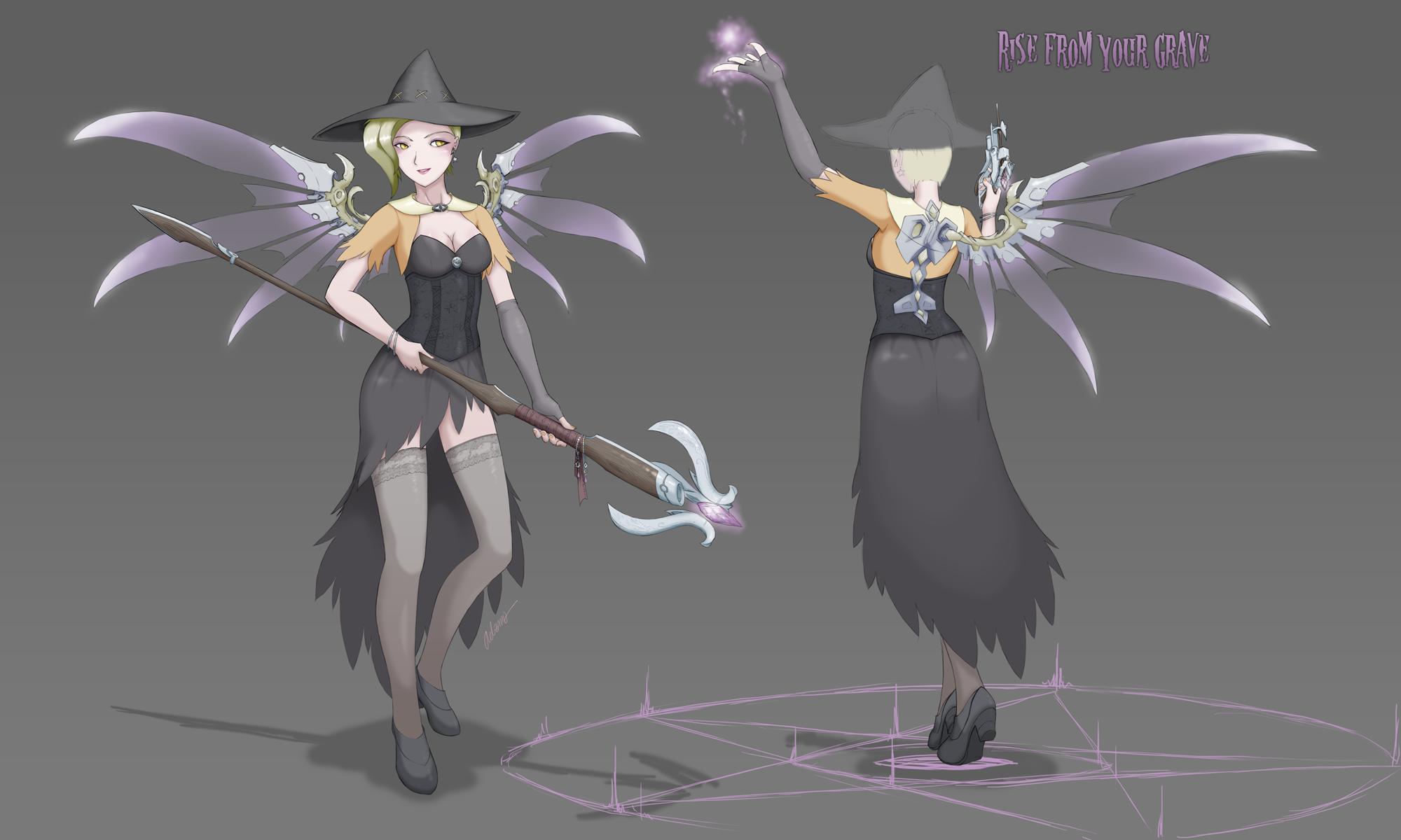 0359 Witch Mercy by aelannacessara on DeviantArt