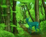The elusive Teal Deer