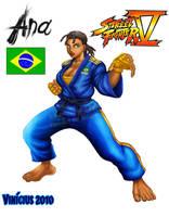 Ana : Street fighter V by viniciusmt2007
