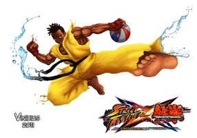 Sean Street Fighter X Tekken by viniciusmt2007