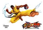 Sean Street Fighter X Tekken