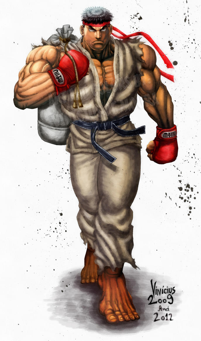 Ryu 2012 by viniciusmt2007