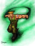 Guile Ultra Street Fighter IV