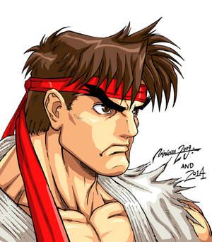 Ryu Character select SUPER STREET FIGHTER 2 TURBO.