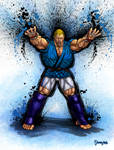 Abel Ultra Street Fighter IV. by viniciusmt2007