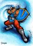 Chun-Li Ultra Street Fighter IV. by viniciusmt2007