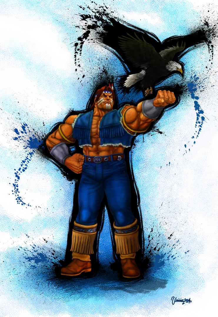 T.Hawk Ultra Street Fighter IV. by viniciusmt2007