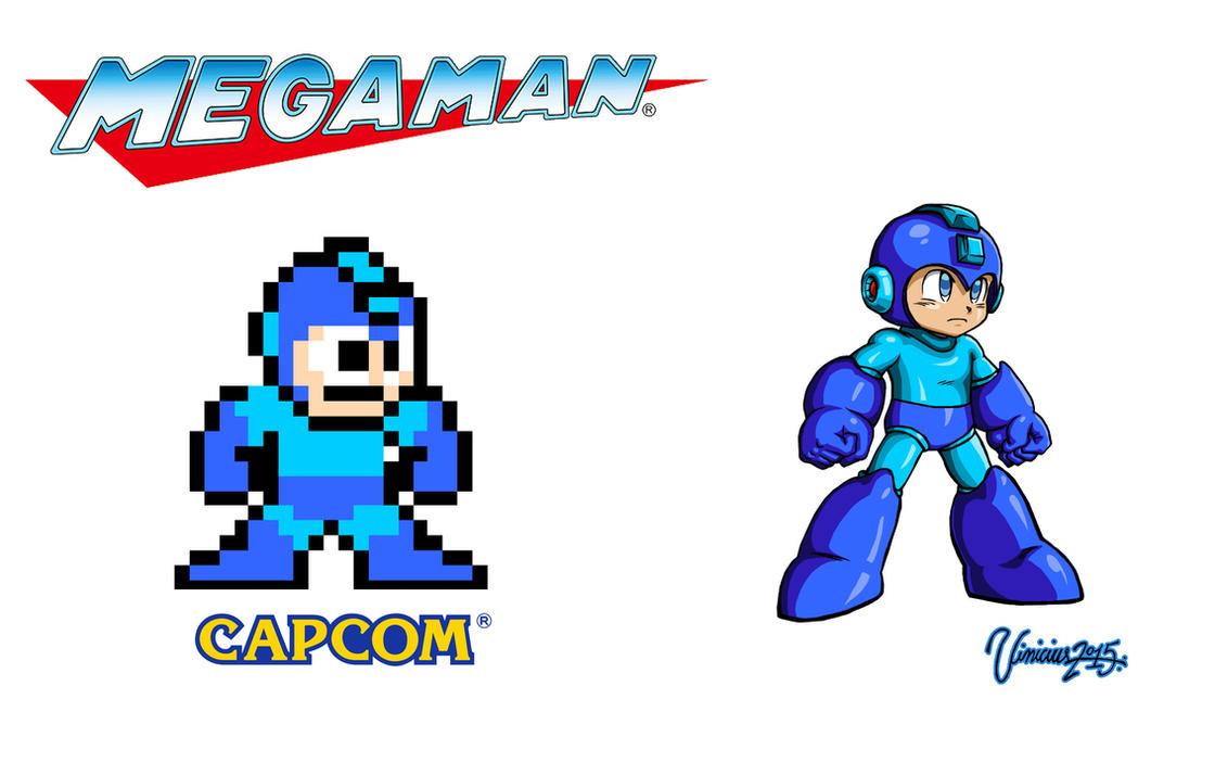 Mega Man by viniciusmt2007