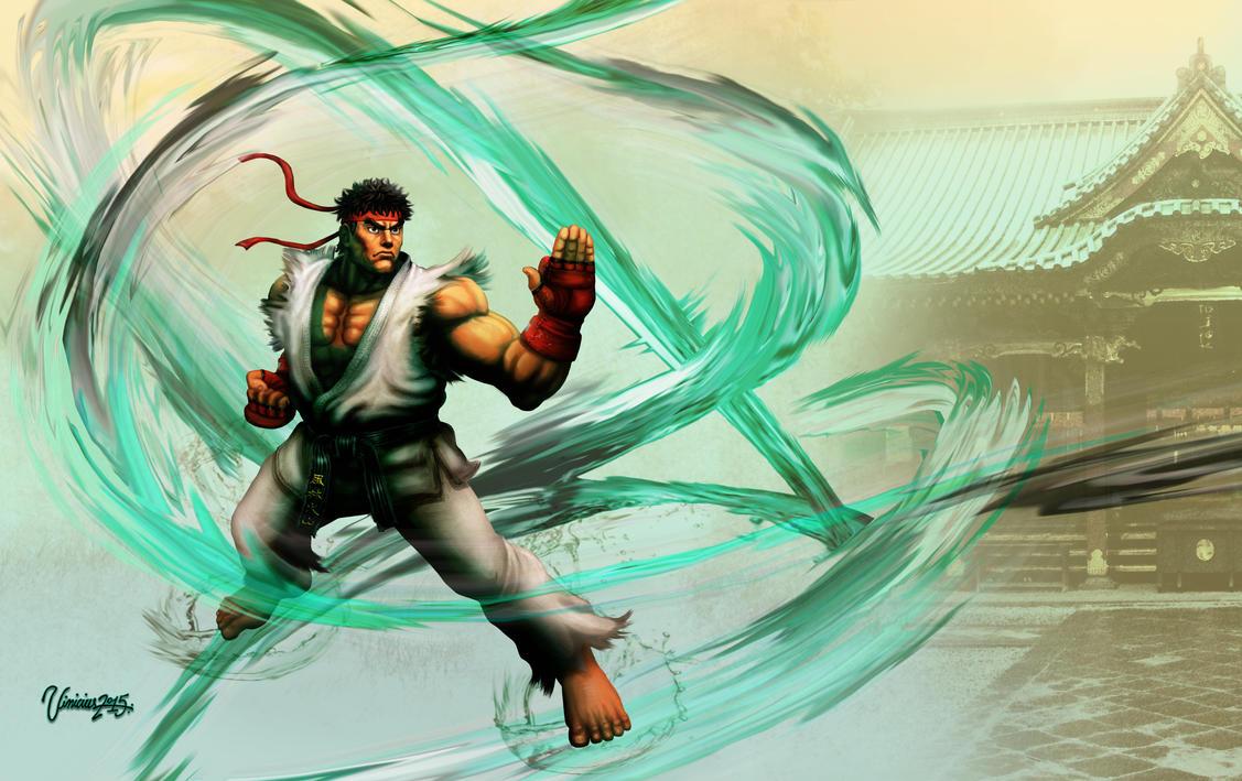 Ryu  Street Fighter V by viniciusmt2007