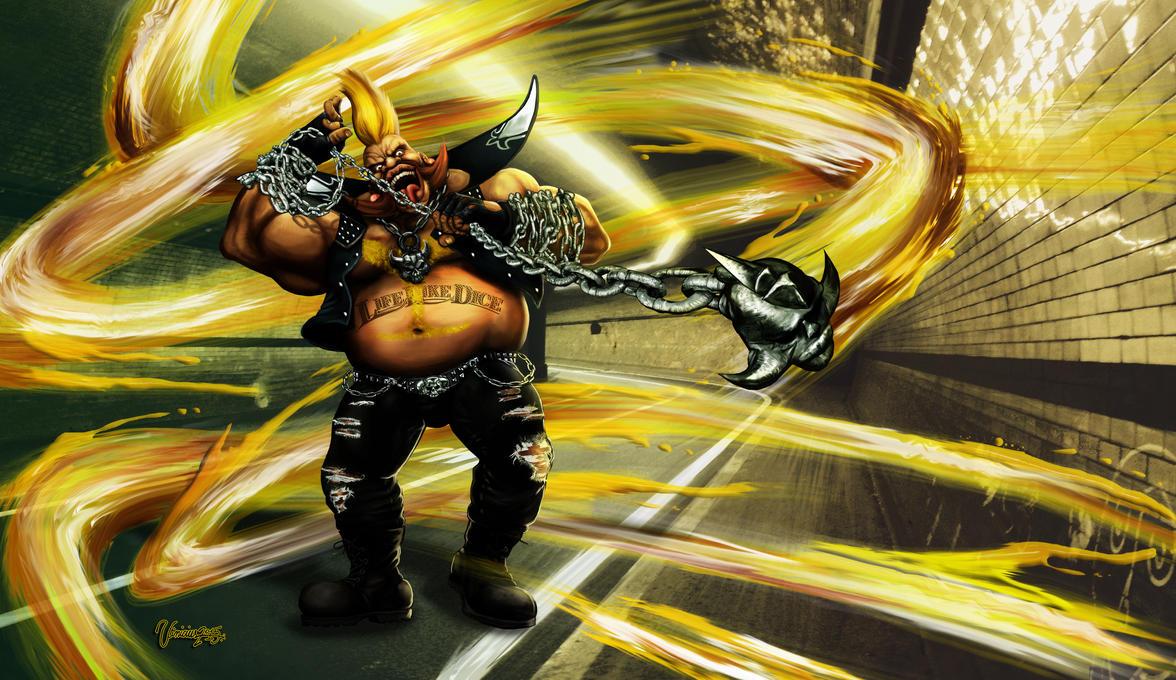 Birdie Street Fighter V. by viniciusmt2007