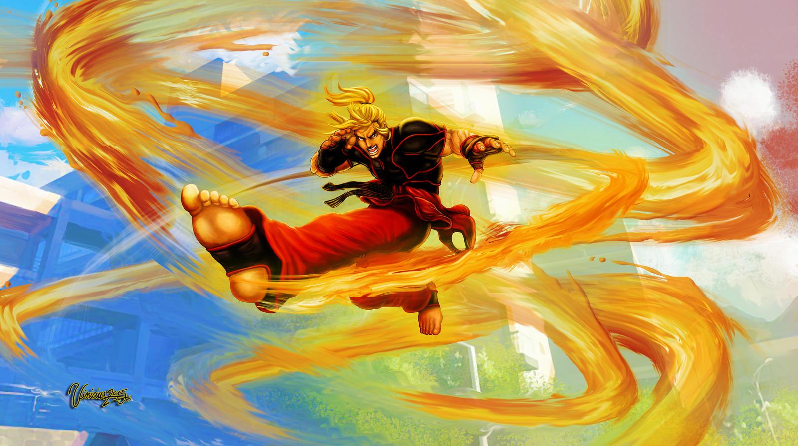 Ken Street Fighter V By Viniciusmt2007