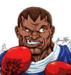Balrog Character select SUPER STREET FIGHTER 2 by viniciusmt2007