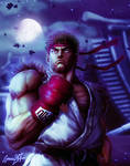 Ryu Street Fighter V Night version.