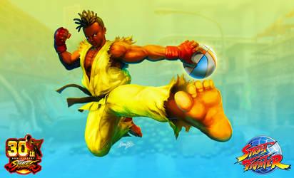 Sean Street Fighter III by viniciusmt2007