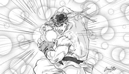 Ryu hadouken!!! by viniciusmt2007