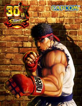 Ryu remake art 2008 by viniciusmt2007