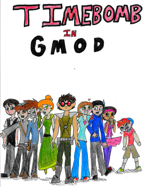 Timebomb in gmod cover by shoobaqueen on deviantart