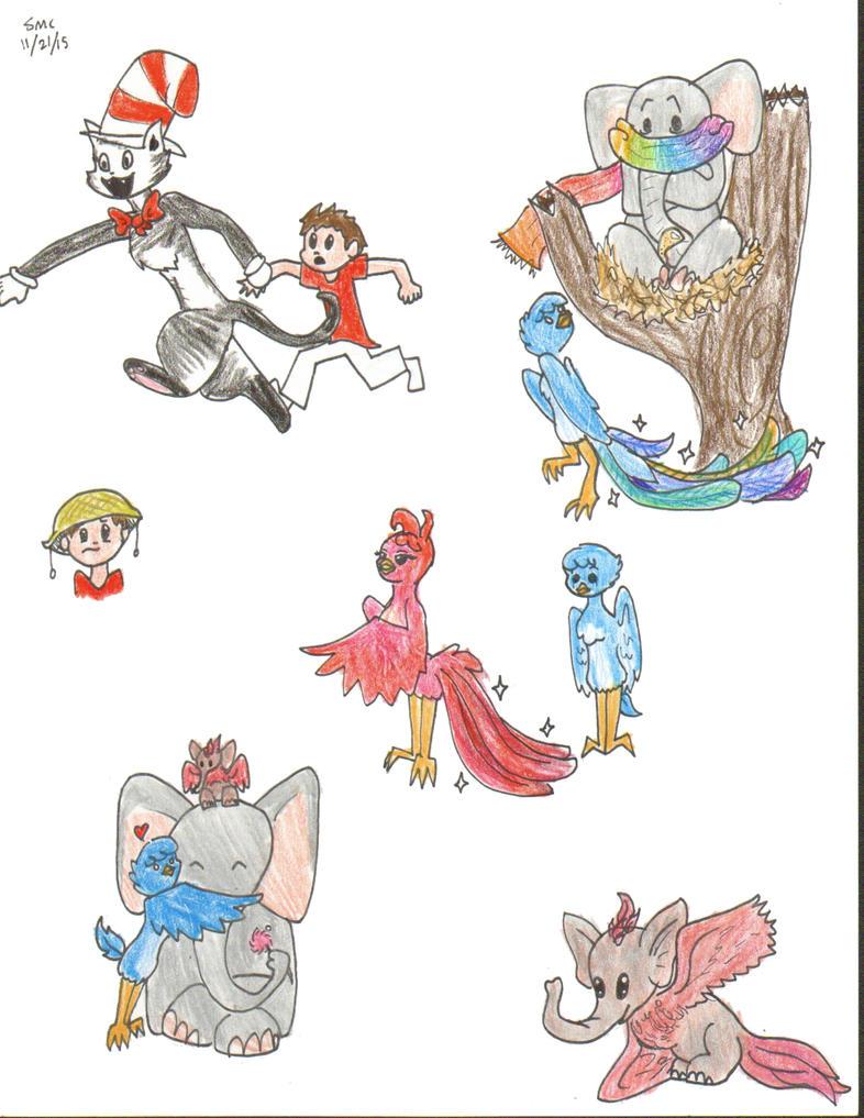 seussical poster design by Jen-Ever on deviantART |Seussical Fan Art