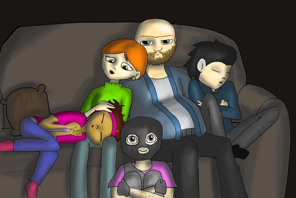 VT- Movie Night by ShoobaQueen