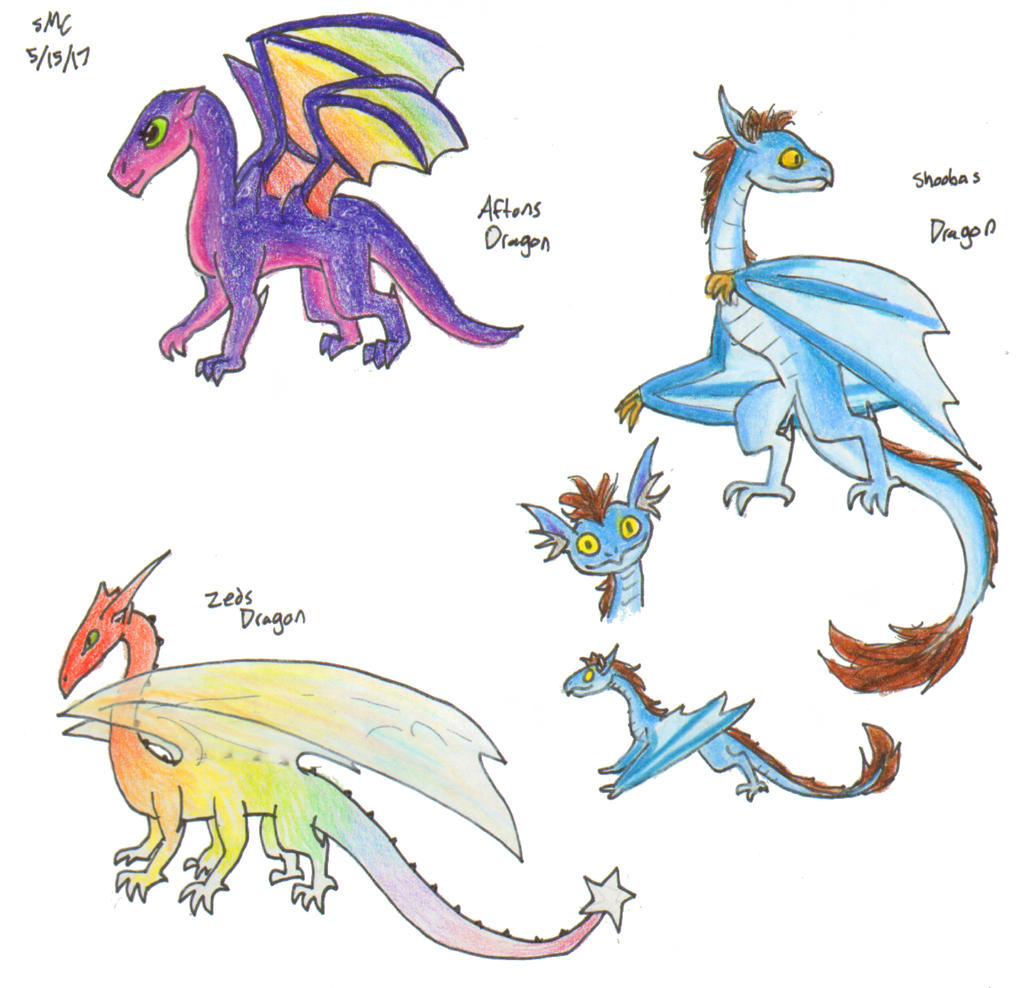 possibly dragons by ShoobaQueen