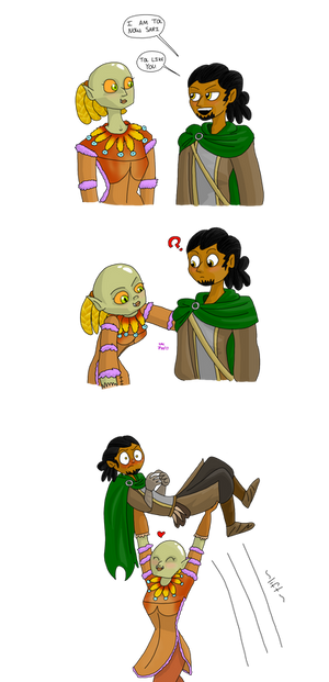 Sari is still the tol one