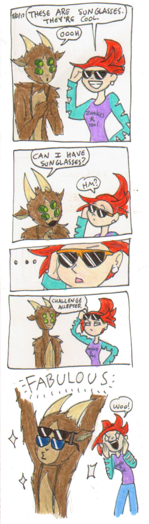 Theim- Sunglasses comic by ShoobaQueen