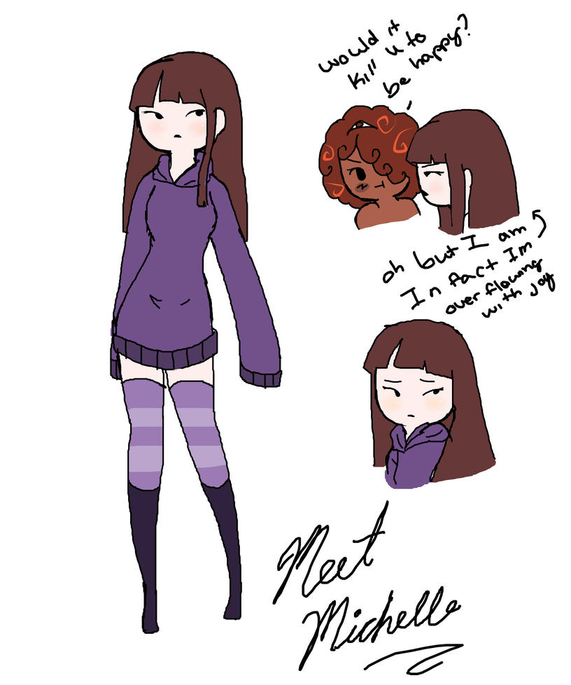 Meet Michelle by Ask-OcsHaven