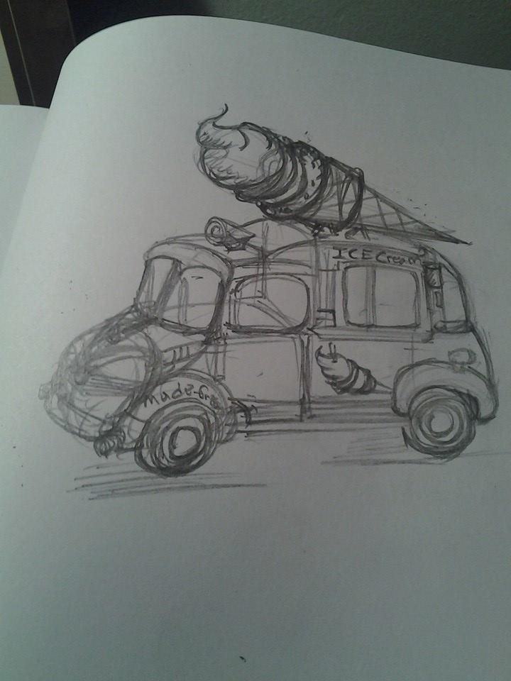 Ice cream truck by chaosangel424