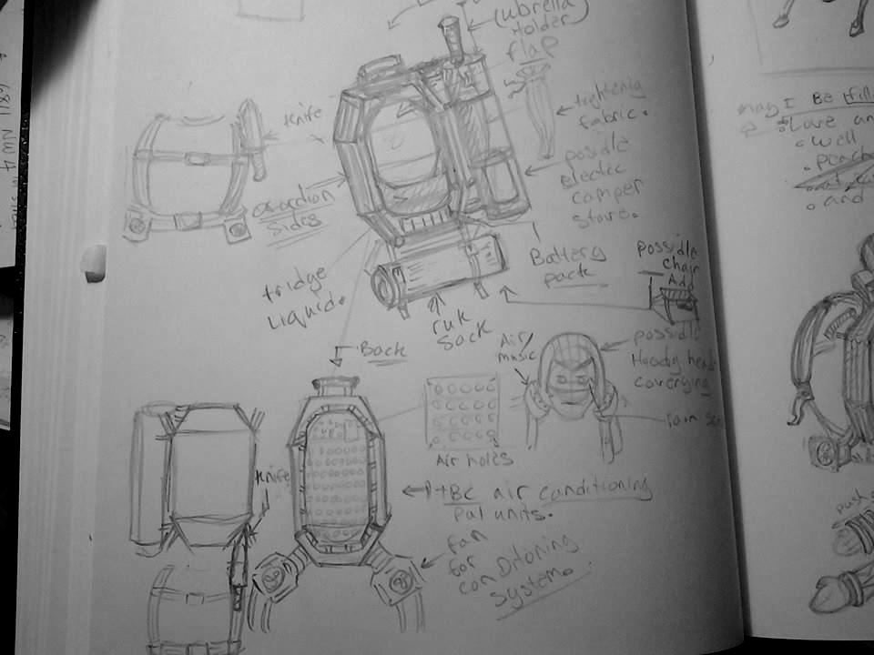 Concept Backpack by chaosangel424