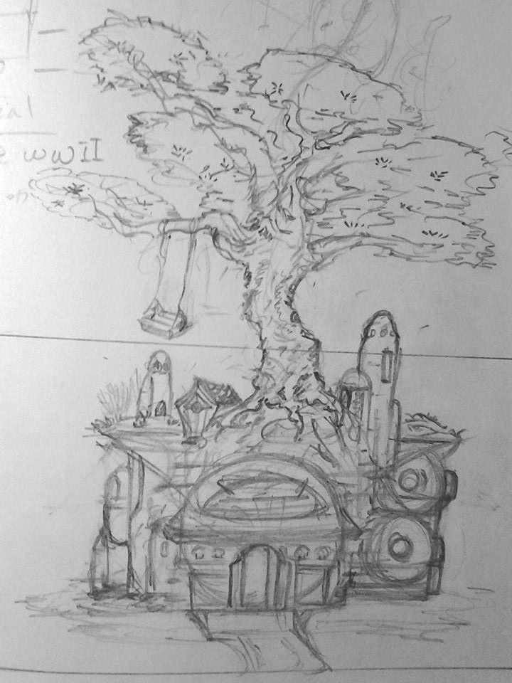 Tree House Idea by chaosangel424