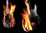 Burning Guitars
