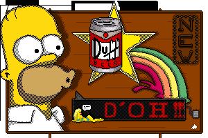 Pixel DUff by MenInASuitcase