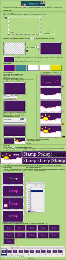 Stamp tutorial