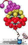 Blob clown balloon by MenInASuitcase