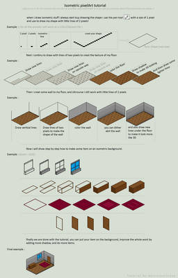 isometric background tutorial