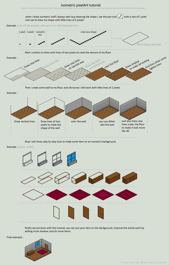 isometric background tutorial by MenInASuitcase